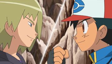 Temporada 14, episodio 31: ¡El tercer combate de Ash y Trip!