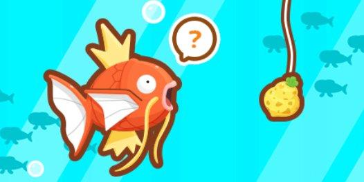 Evento 1 - ¡Esto es la caña! - Magikarp Jump