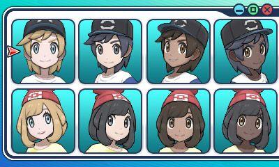 Selección de Personaje