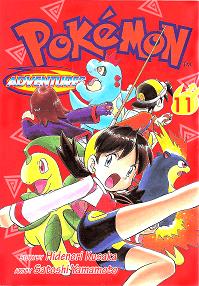Pokémon Adventures - Volumen-11