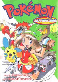 Pokémon Adventures - Volumen-21