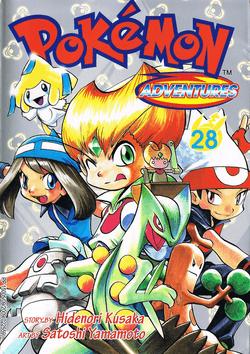 Pokémon Adventures - Volumen-28