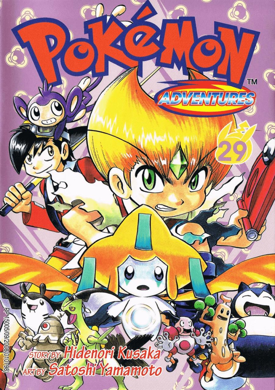 Pokémon Adventures - Volumen-29