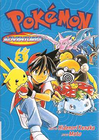 Pokémon Adventures - Volumen-3