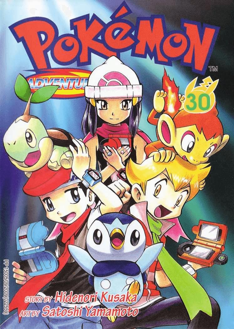 Pokémon Adventures - Volumen-30