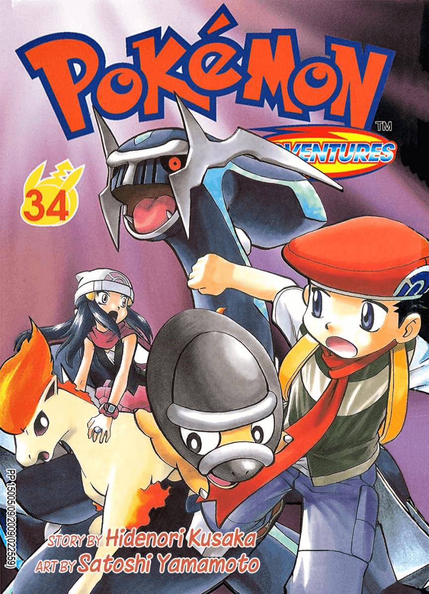 Pokémon Adventures - Volumen-34