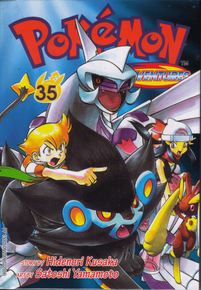 Pokémon Adventures - Volumen-35