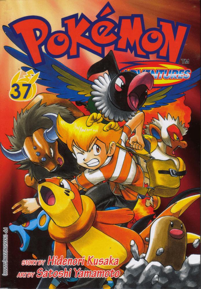Pokémon Adventures - Volumen-37