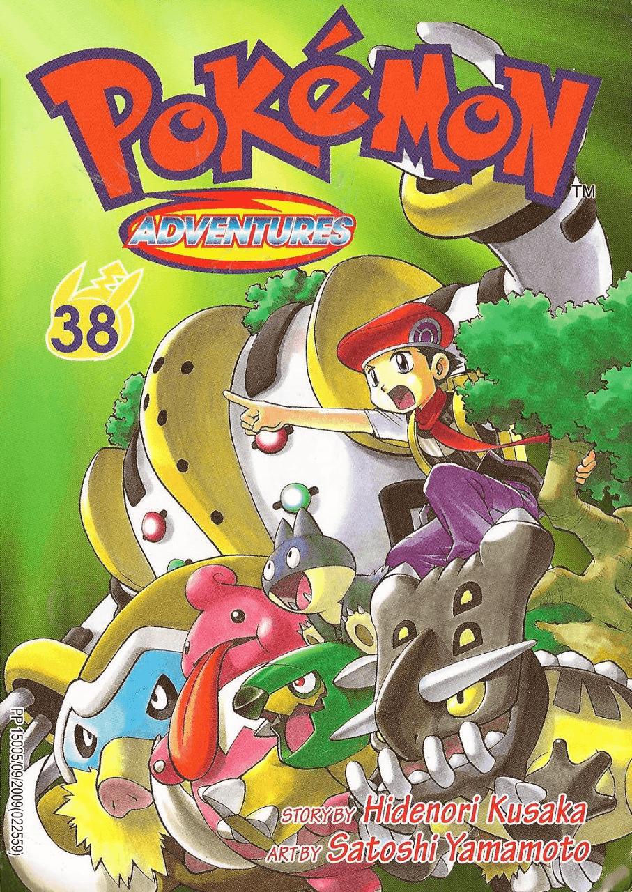Pokémon Adventures - Volumen-38
