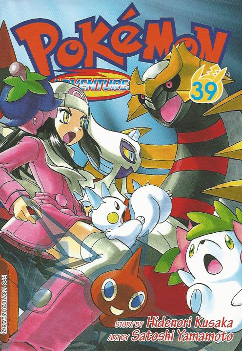 Pokémon Adventures - Volumen-39
