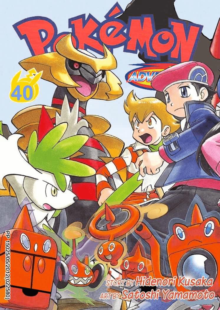 Pokémon Adventures - Volumen-40