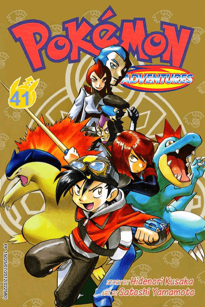 Pokémon Adventures - Volumen-41