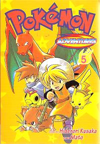 Pokémon Adventures - Volumen-5