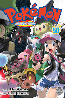 Pokémon Adventures - Volumen-50