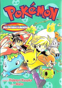 Pokémon Adventures - Volumen-6