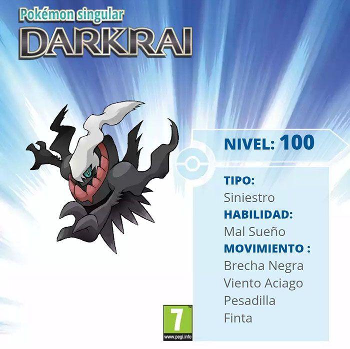 ¡Sorteamos 10 códigos Americanos de Darkrai! [FINALIZADO]