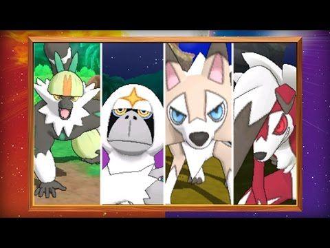 ¡Nuevo trailer revela los Pokémon exclusivos de Sol y Luna!