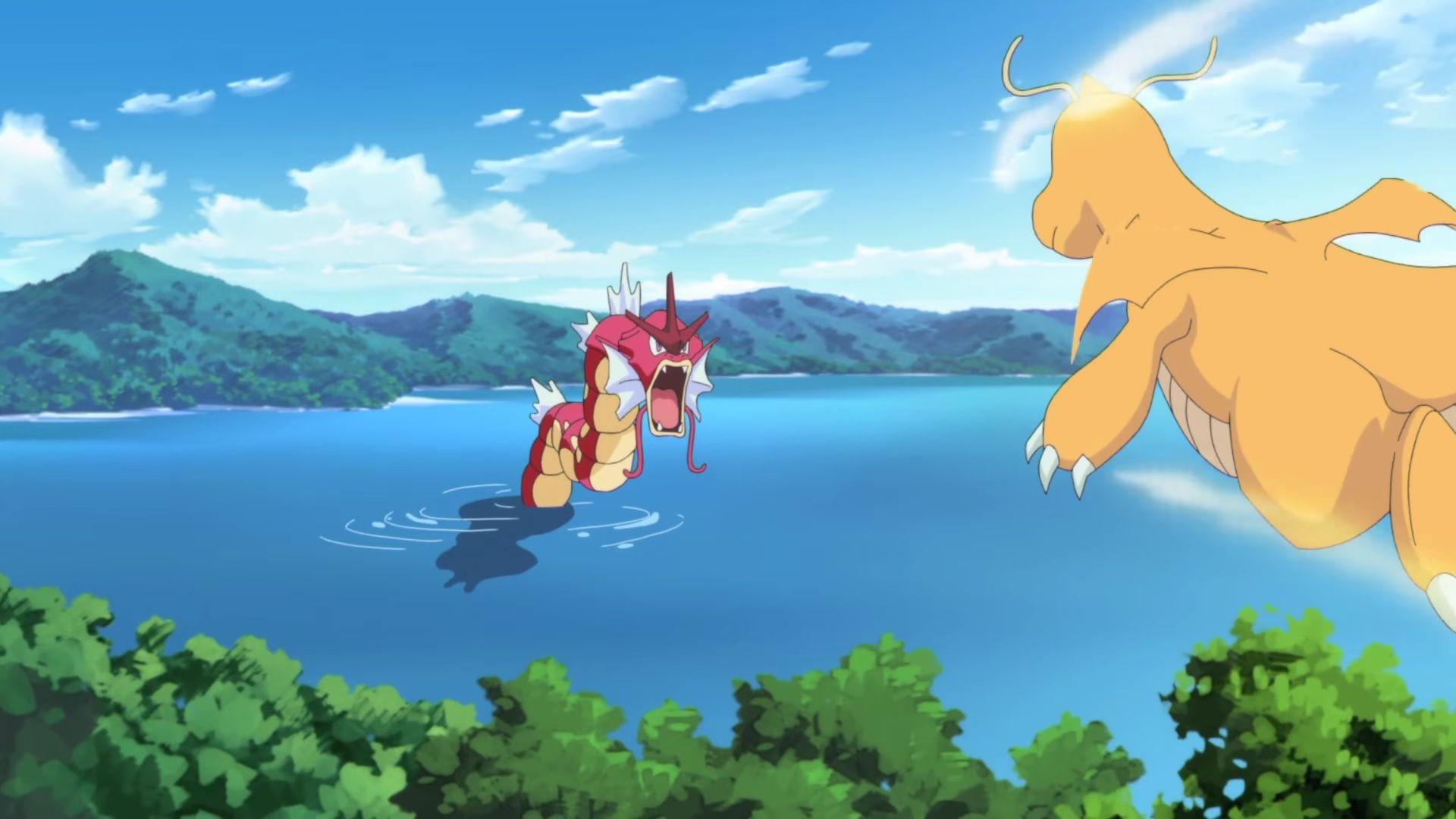 Episodio 4 de Generaciones Pokémon: El Lago de la Furia