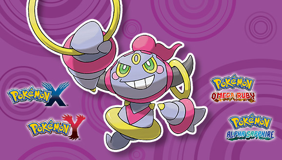 Hoopa regresa a América mediante Nintendo Network