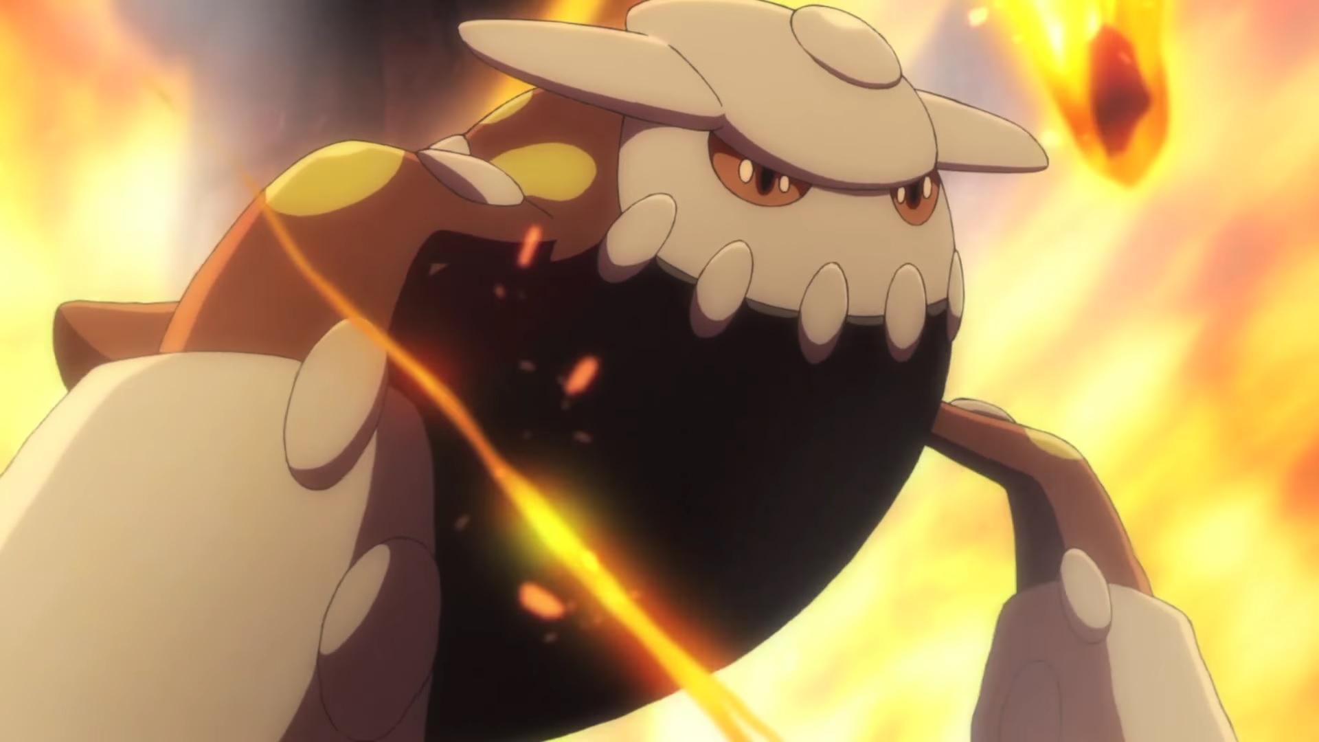 Episodio 12 de Generaciones Pokémon: La Piedra Magma
