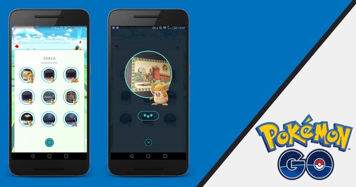Llega la función Cerca a Europa para Pokémon GO