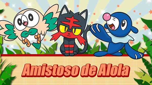 """Comienza el torneo de Sol y Luna """"Amistoso de Alola"""""""