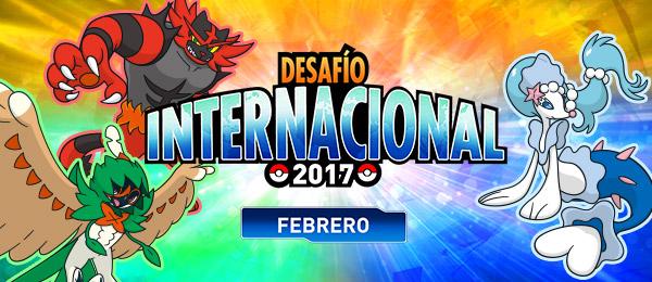 ¡Combate en el Desafío Internacional de febrero de 2017!
