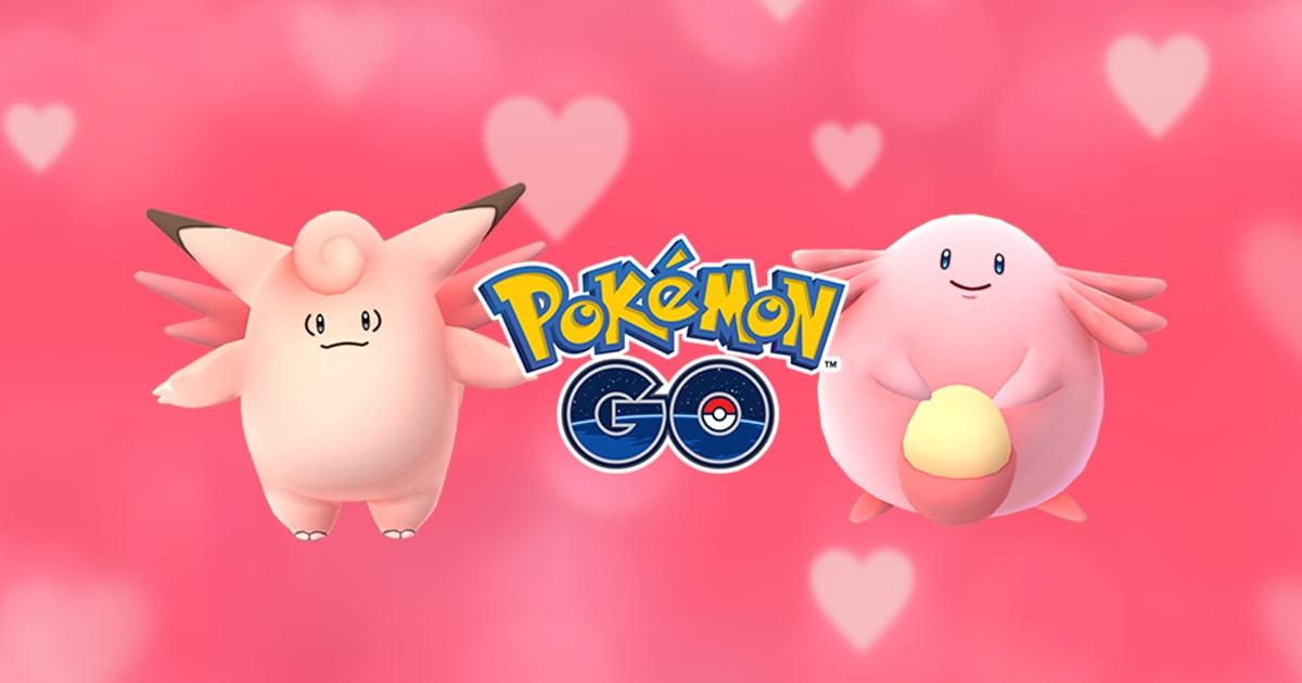 Celebra San Valentín con Pokémon GO