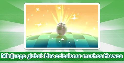 """¡Participa en el nuevo minijuego global """"Haz eclosionar muchos Huevos""""!"""