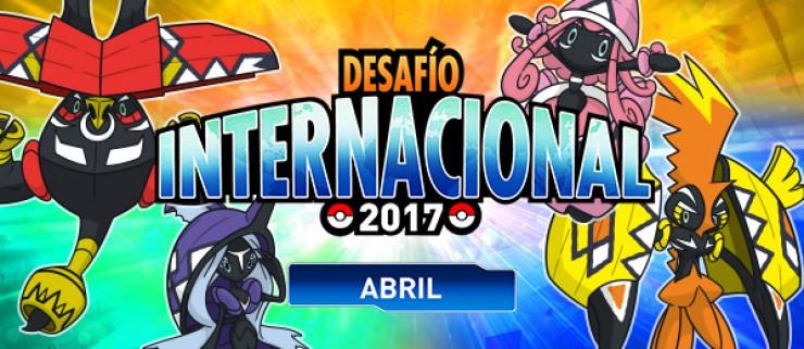 ¡Combate en el Desafío Internacional de abril de 2017!