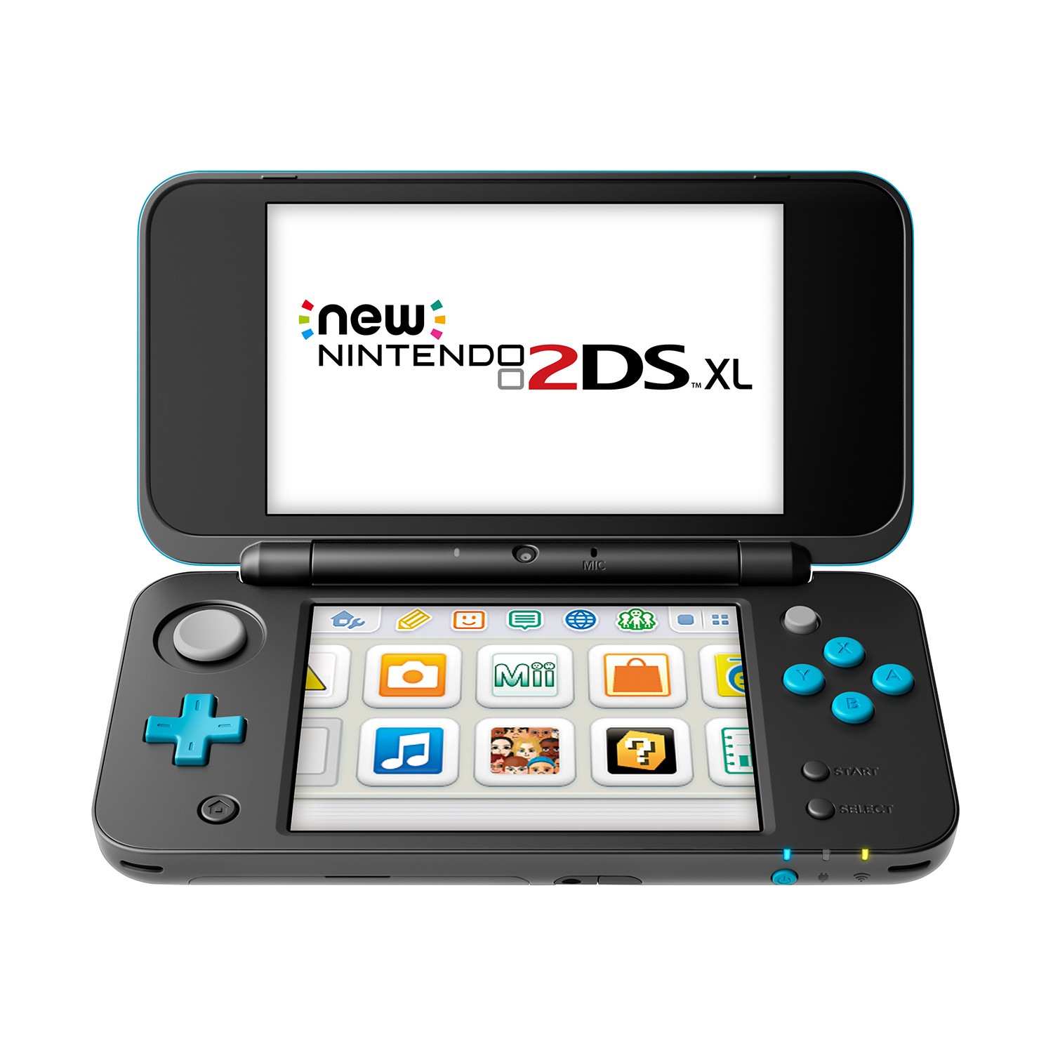 New 2DS XL Negro/Azul