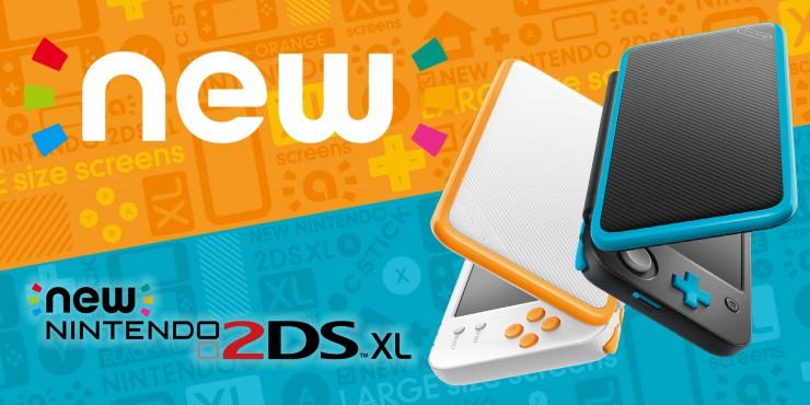 Anunciada New 2DS XL, disponible el 29 de julio