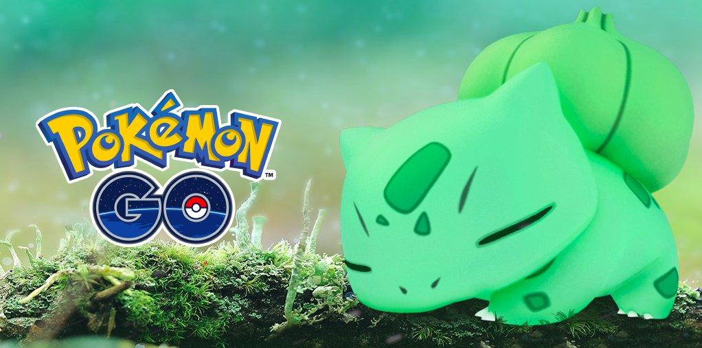 Comienza el evento de Pokémon de tipo Planta en Pokémon GO