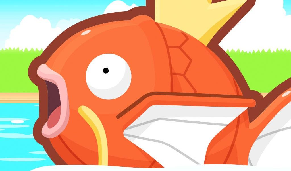 Nuevo juego para iOS: Pokémon: Magikarp Jump