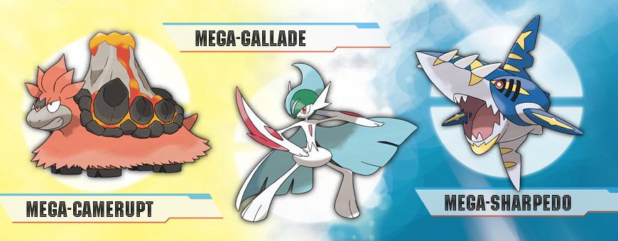¡Nuevos Mega-Pokémon revelados en CoroCoro!
