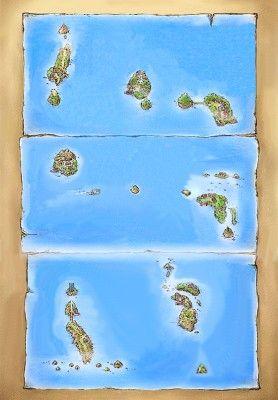 Mapa de las Islas Archi7