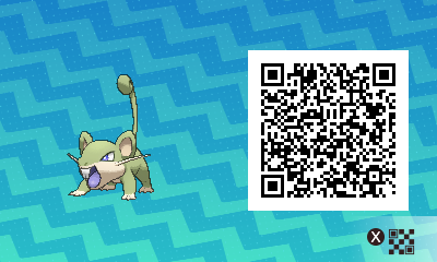 #015 - Shiny Male Rattata