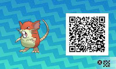 #016 - Shiny Male Raticate