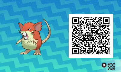 #016 - Shiny Female Raticate