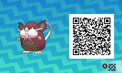 #016 - Shiny Alola Raticate