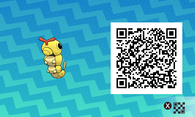 #017 - Shiny Caterpie