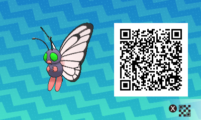 #019 - Shiny Male Butterfree