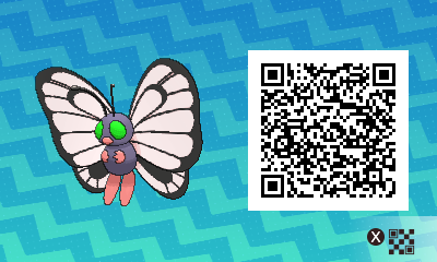 #019 - Shiny Female Butterfree