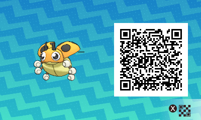 #020 - Shiny Female Ledyba