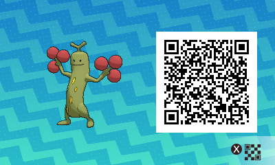 #031 - Shiny Female Sudowoodo