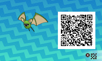 #068 - Shiny Male Zubat