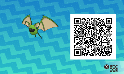 #068 - Shiny Female Zubat