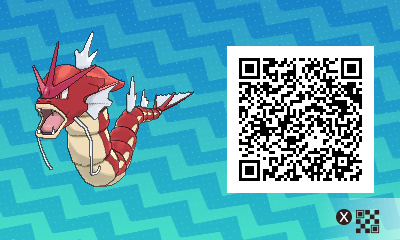 #092 - Shiny Female Gyarados